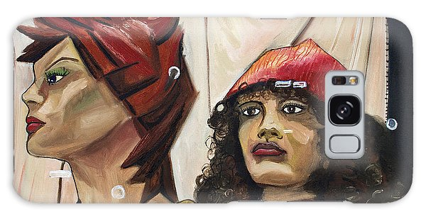 Nina And Star Galaxy Case by Patricia Arroyo
