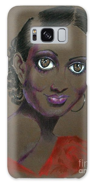 Nina Mae -- African-american Actress Portrait Galaxy Case