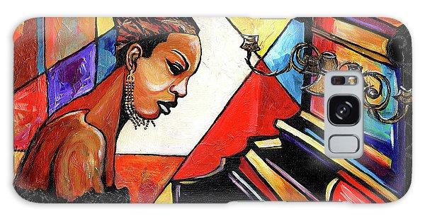 Nina Simone Galaxy Case by Everett Spruill
