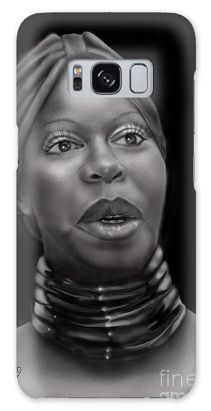 Nina Simone-revolution Galaxy Case