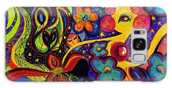 Joyful Galaxy Case by Marina Petro
