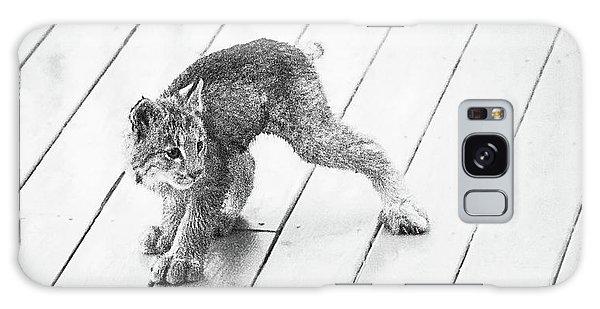 Ninja Lynx Kitty Bw Galaxy Case