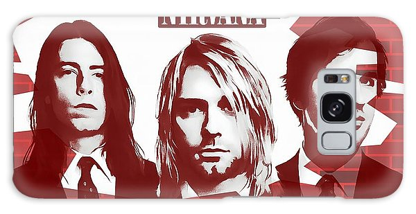 Tribute Galaxy Case - Nirvana Tribute by Dan Sproul
