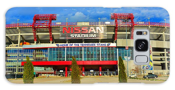 Nissan Stadium Home Of The Tennessee Titans Galaxy Case