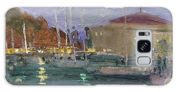 Nite Avalon Harbor - Catalina Island Galaxy Case