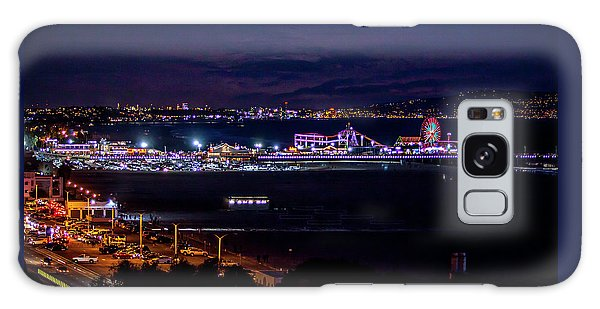 Nite Life On The Pier Galaxy Case