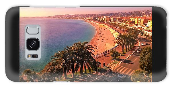 Nizza By The Sea Galaxy Case