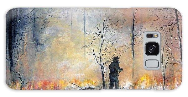 Nj Forrest Fire Galaxy Case by Ken Ahlering
