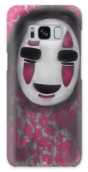 No Face  Galaxy Case by Abril Andrade Griffith
