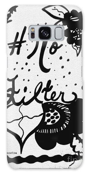 No Filter Galaxy Case
