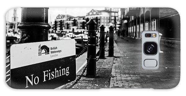 No Fishing Galaxy Case