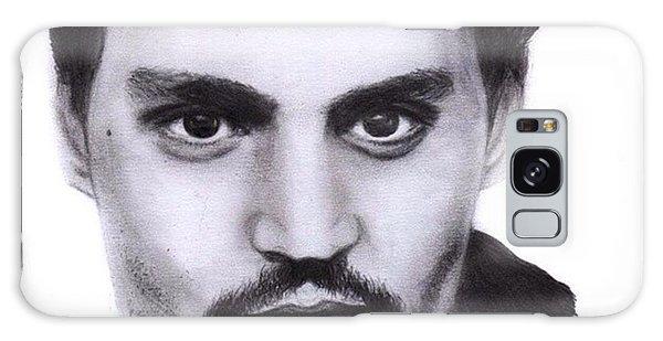 Galaxy Case - Johnny Depp Drawing By Sofia Furniel by Jul V