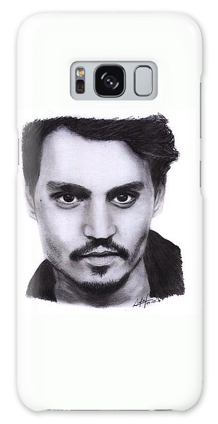 Galaxy Case - Johnny Depp Drawing By Sofia Furniel by Jul V