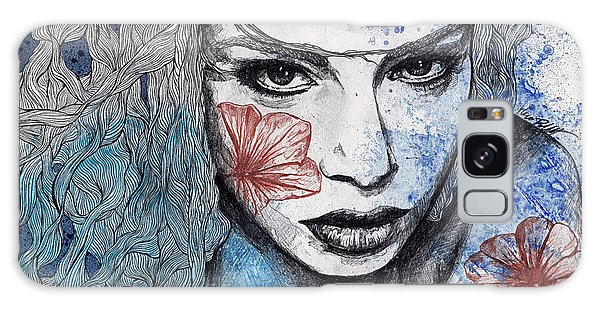 Beautiful Girl Galaxy Case - No Hope In Sight by Marco Paludet