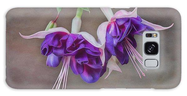 Purple Fuchsia Galaxy Case
