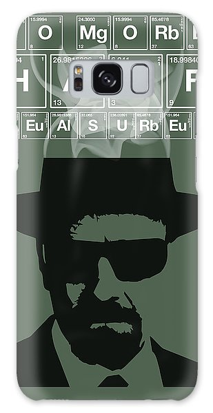 No More Half Measures - Breaking Bad Poster Walter White Quote Galaxy Case