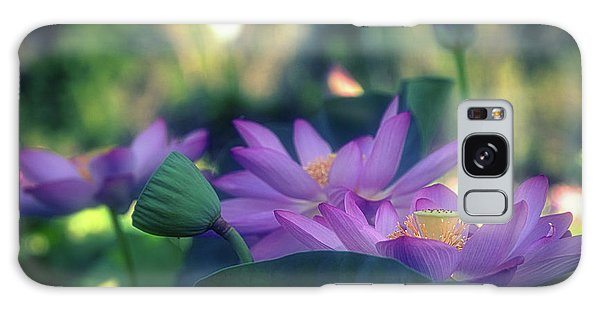 Galaxy Case featuring the photograph No Mud, No Lotus by Cindy Lark Hartman