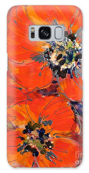 Magic Poppy Galaxy Case