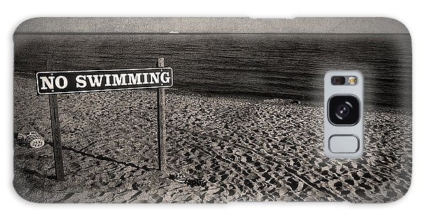 England Galaxy Case - No Swimming by Evelina Kremsdorf