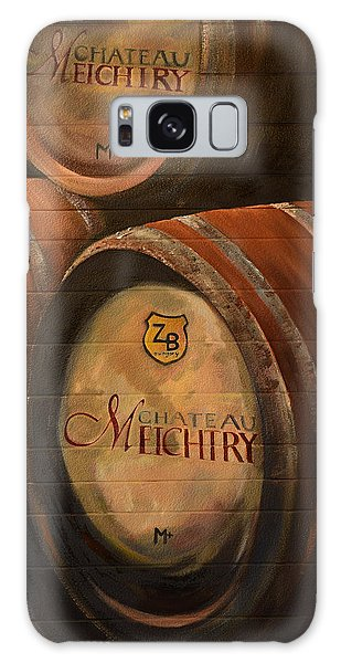 No Wine Before It's Time - Barrels-chateau Meichtry Galaxy Case by Jan Dappen