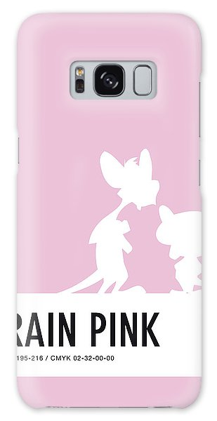 Woodpecker Galaxy S8 Case - No01 My Minimal Color Code Poster Pinky And The Brain by Chungkong Art