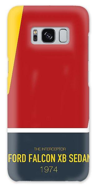 Knight Galaxy Case - No011 My Mad Max Minimal Movie Car Poster by Chungkong Art
