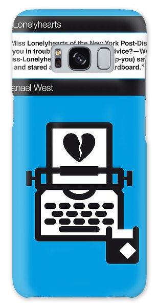 No011-my-miss Lonelyhearts-book-icon-poster Galaxy Case