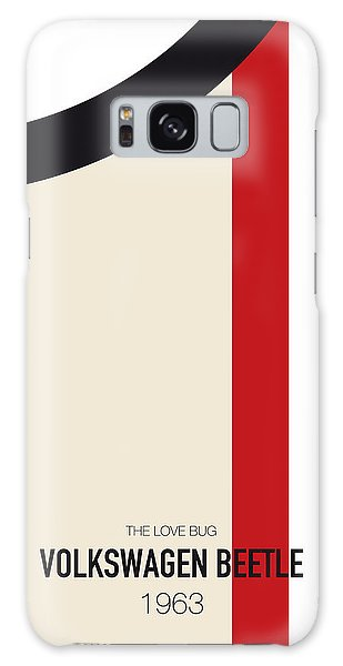 Speed Galaxy Case - No014 My Herbie Minimal Movie Car Poster by Chungkong Art