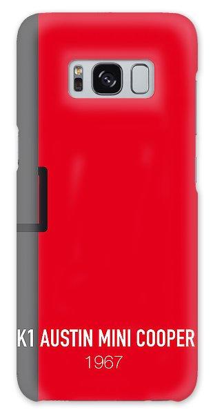 Austin Galaxy S8 Case - No018 My The Italian Job Minimal Movie Car Poster by Chungkong Art