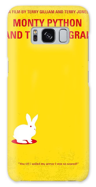 No036 My Monty Python And The Holy Grail Minimal Movie Poster Galaxy Case by Chungkong Art