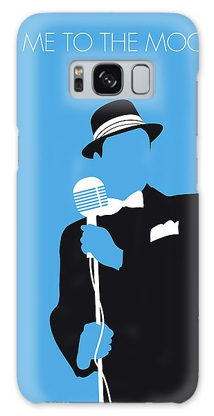 1950s Galaxy Case - No059 My Sinatra Minimal Music Poster by Chungkong Art