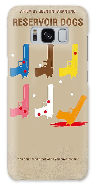 No069 My Reservoir Dogs Minimal Movie Poster Galaxy Case