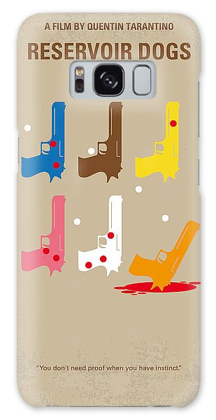 Hollywood Galaxy Case - No069 My Reservoir Dogs Minimal Movie Poster by Chungkong Art