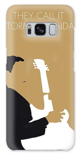 Bone Galaxy Case - No070 My Tbone Walker Minimal Music Poster by Chungkong Art