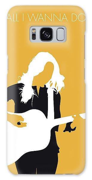 Crow Galaxy S8 Case - No074 My Sheryl Crow Minimal Music Poster by Chungkong Art