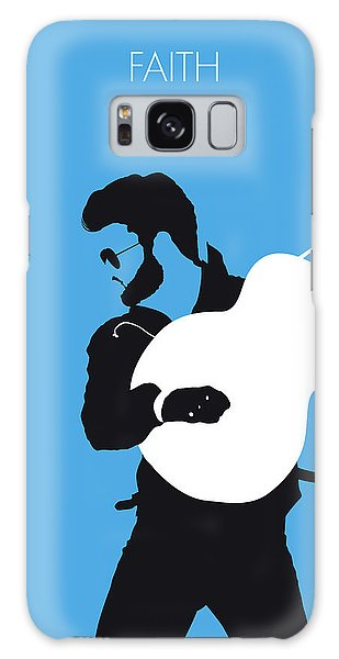 Rhythm And Blues Galaxy S8 Case - No089 My George Michael Minimal Music Poster by Chungkong Art