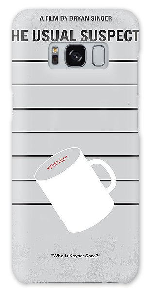 No095 My The Usual Suspects Minimal Movie Poster Galaxy Case
