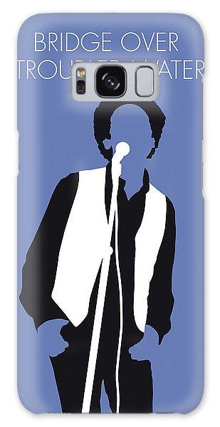 No098 My Art Garfunkel Minimal Music Poster Galaxy Case
