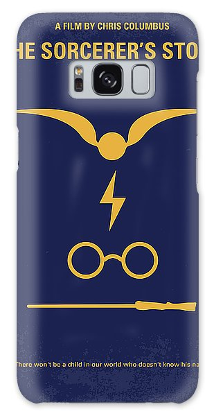 No101 My Harry Potter Minimal Movie Poster Galaxy Case