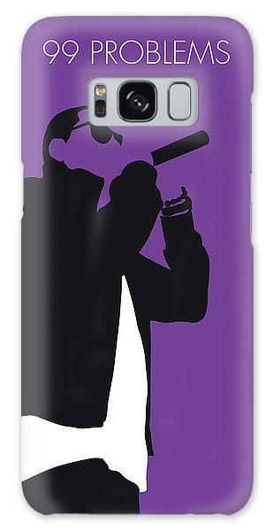 Jay Z Galaxy Case - No101 My Jay-z Minimal Music Poster by Chungkong Art