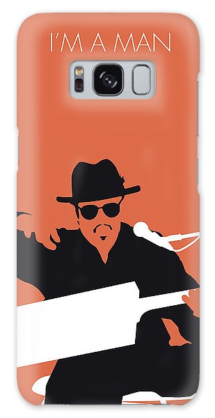 Rhythm And Blues Galaxy S8 Case - No103 My Bo Diddley Minimal Music Poster by Chungkong Art
