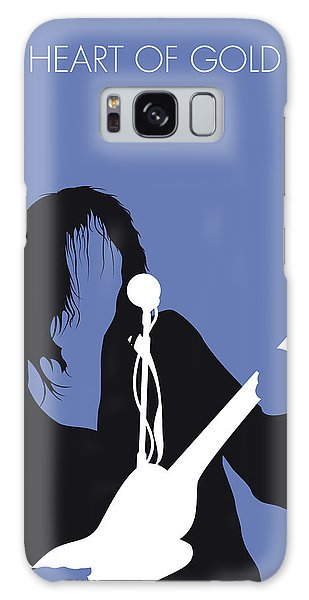 No128 My Neil Young Minimal Music Poster Galaxy Case