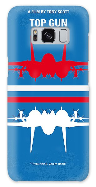 Poster Galaxy Case - No128 My Top Gun Minimal Movie Poster by Chungkong Art