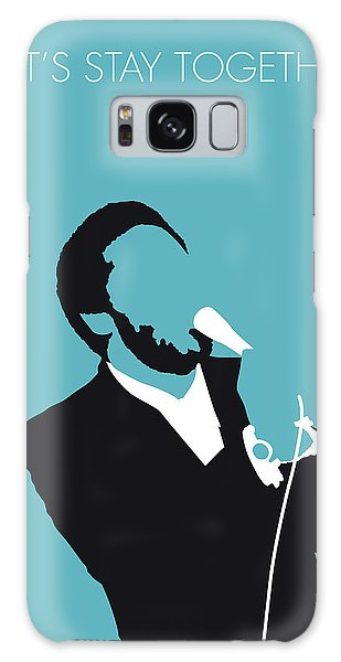 Rhythm And Blues Galaxy S8 Case - No135 My Al Green Minimal Music Poster by Chungkong Art