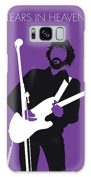 No141 My Eric Clapton Minimal Music Poster Galaxy Case