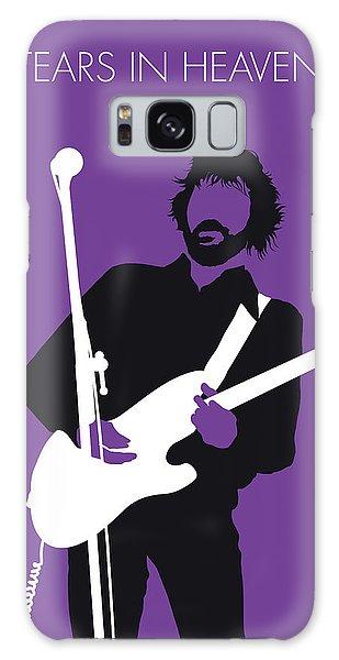Eric Clapton Galaxy Case - No141 My Eric Clapton Minimal Music Poster by Chungkong Art