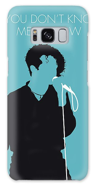 Rhythm And Blues Galaxy S8 Case - No165 My Simply Red Minimal Music Poster by Chungkong Art