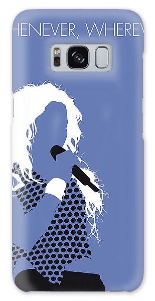 No168 My Shakira Minimal Music Poster Galaxy Case