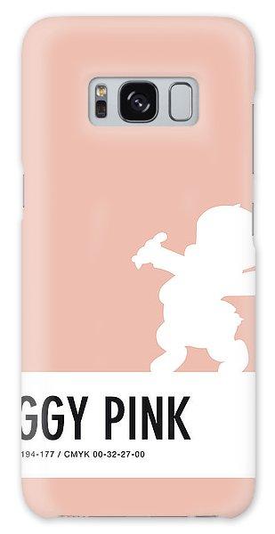 Woodpecker Galaxy S8 Case - No17 My Minimal Color Code Poster Porky Pig by Chungkong Art