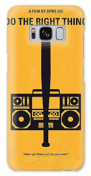 No179 My Do The Right Thing Minimal Movie Poster Galaxy Case